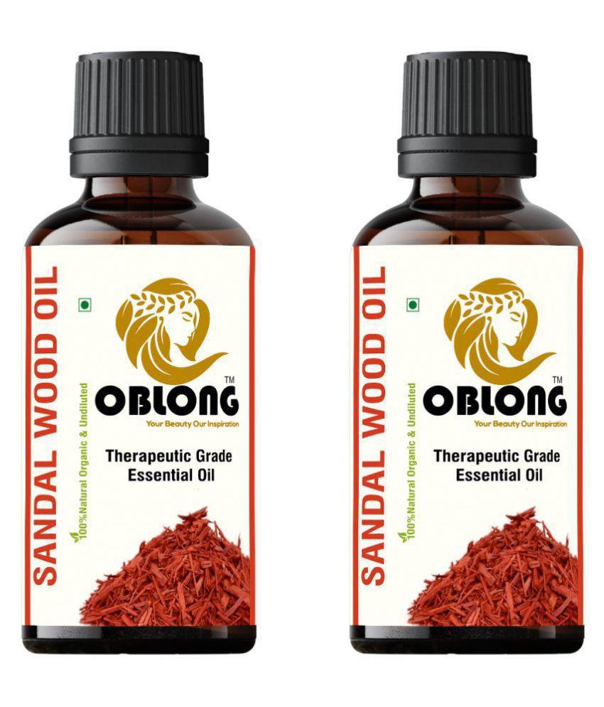 Oblong Sandalwood Essential Oil 20 mL