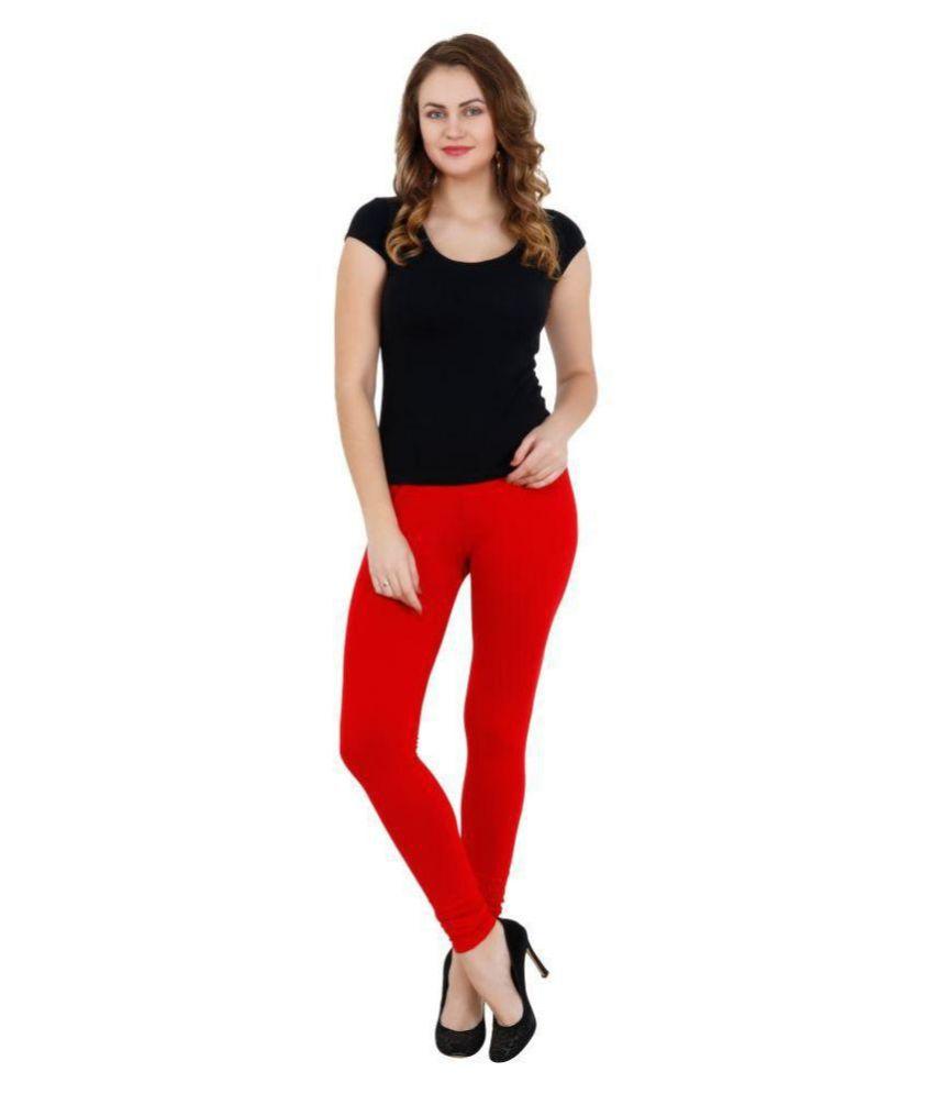 Aadrika Cotton Lycra Single Leggings