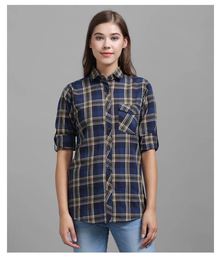 The Dry State Blue Cotton Shirt