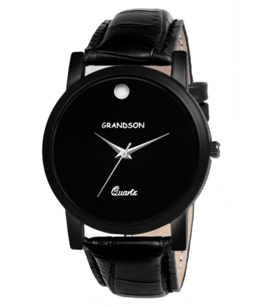 Grandson G-211 Leather Analog Men's Watch