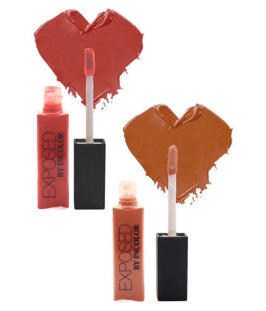 Incolor Lip Gloss Liquid 10+23 Multi SPF 12 Pack of 2 6 mL
