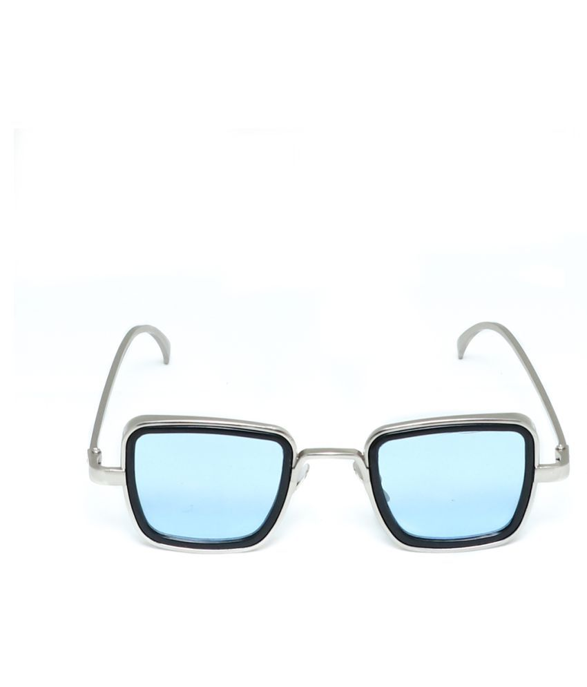 Black Horse - Ocean Blue Square Sunglasses ( NM012 SKY BULE )