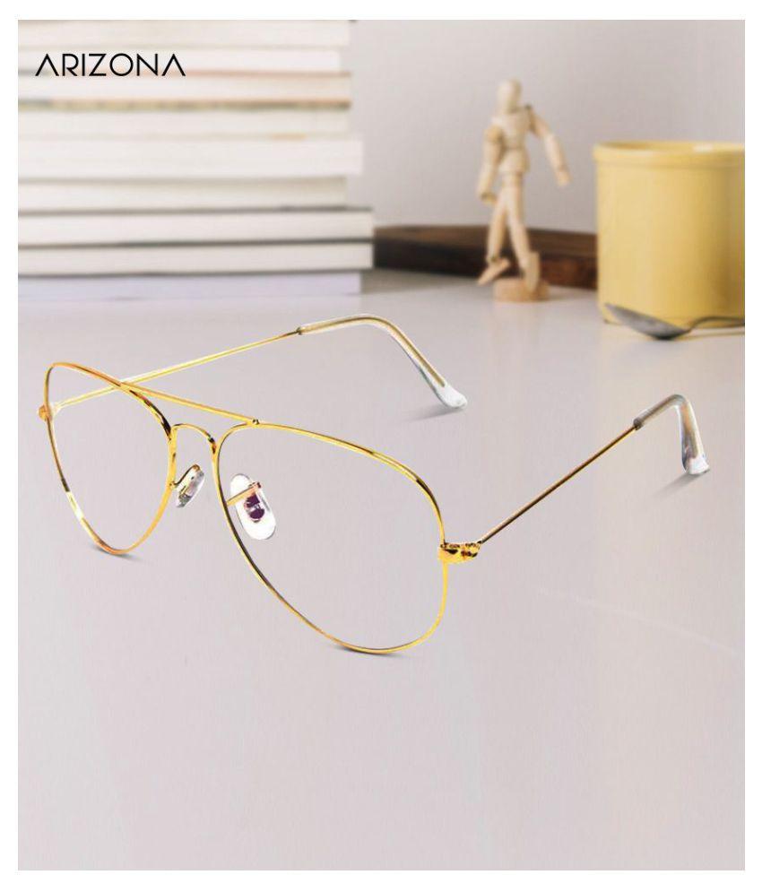 Arizona Sunglasses - Clear Plastic (Polycarbonate) lens