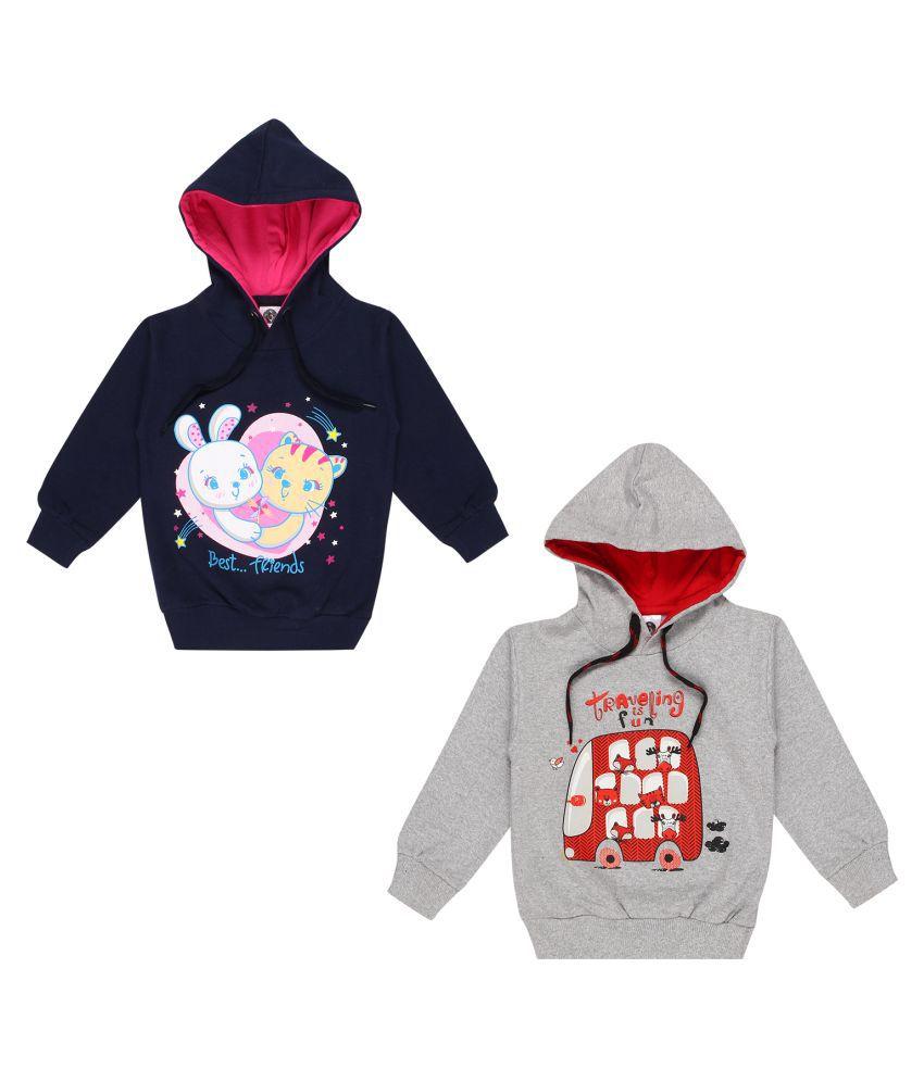 Kids Magic Boys Girls Cotton Hooded Sweatshirt