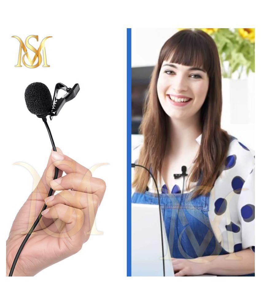 SM.ONLINE SHOPPING COLLAR MIC Lapel Microphone