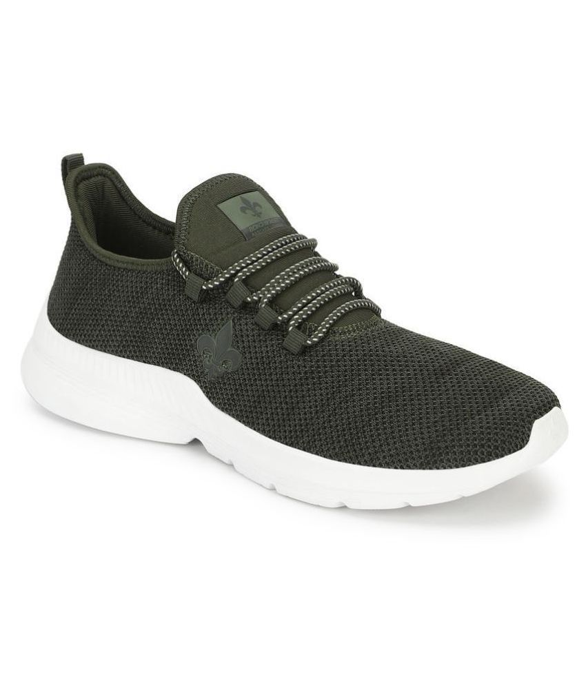 Bond Street By Red Tape Walking Olive Running Shoes