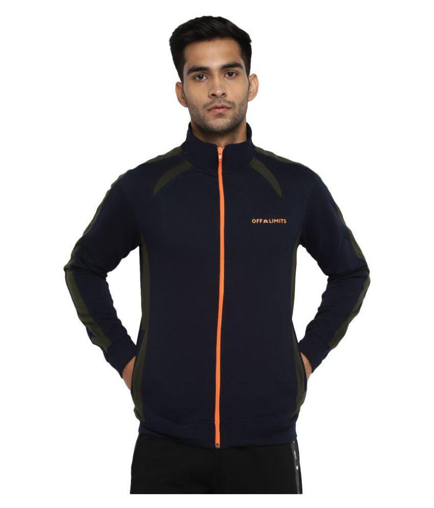 OFF LIMITS Navy Polyester Jacket