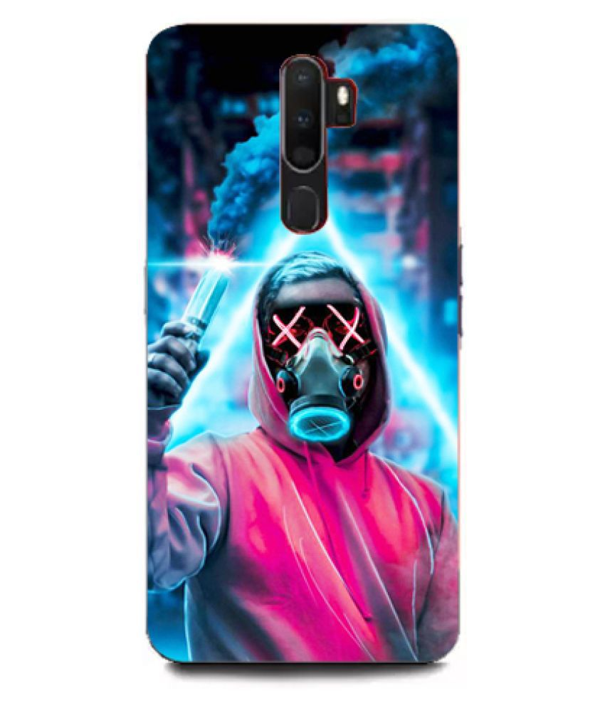Oppo A5 2020 Printed Cover By Tootena Smooth and attractive