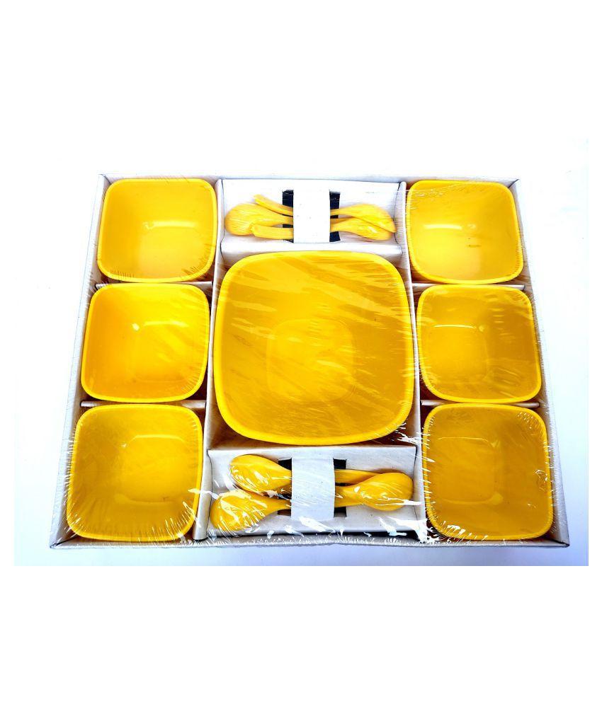 Mithi Home 13 Pcs Plastic Pudding Bowl 180 mL