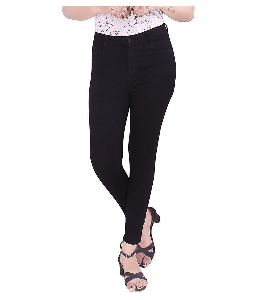 R-MORE Poly Cotton Jeans - Black