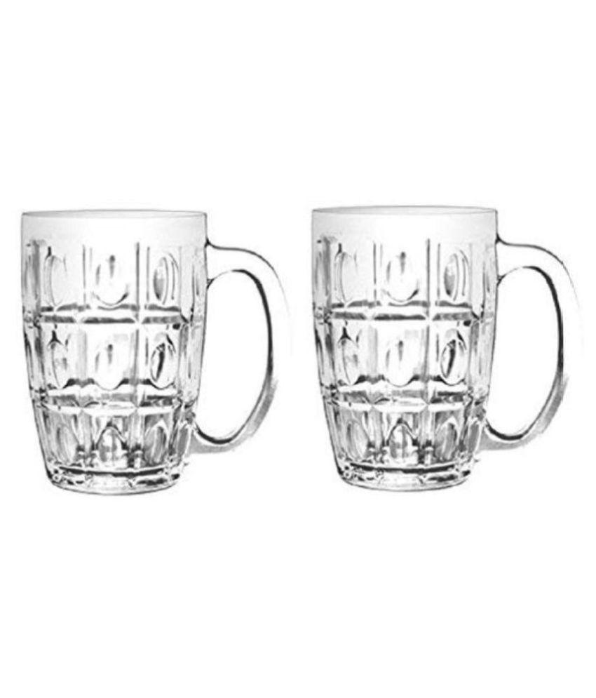 Mannat Glass 350 ml Beer Glasses & Mugs
