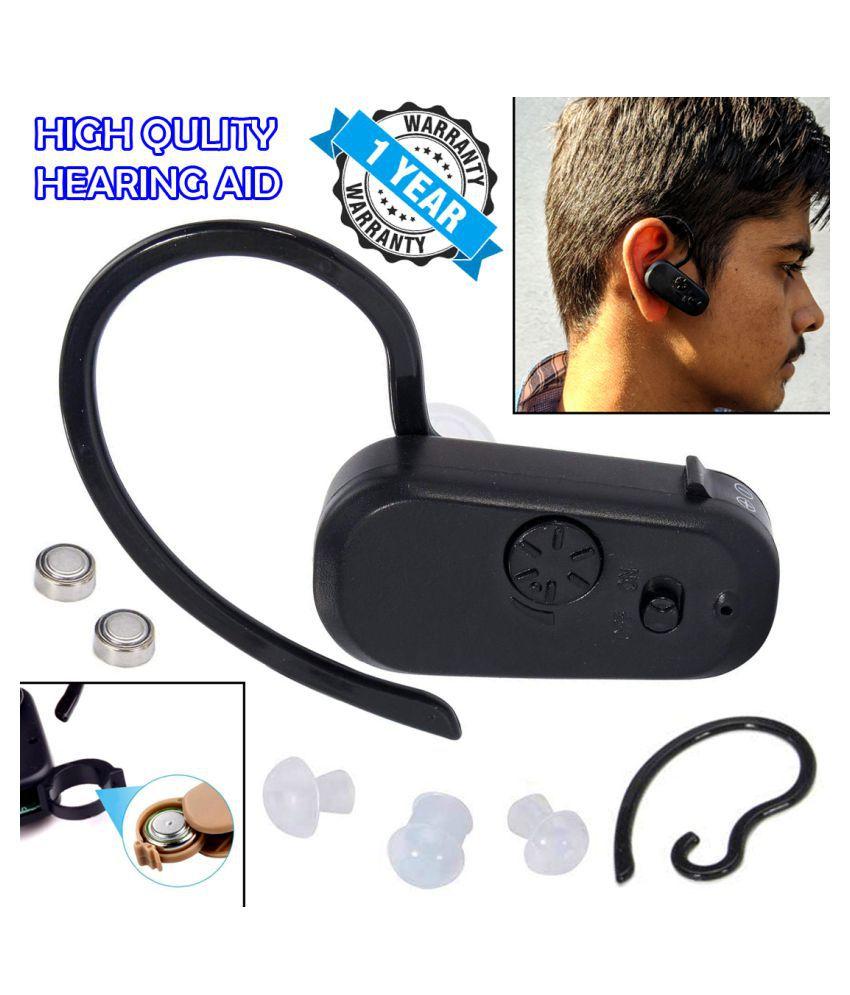 D Digital Hearing Aid Ear Voice Sound Amplifier Volume Adjustable Wireless Sound Enhancement Device Mini Hearing Aid