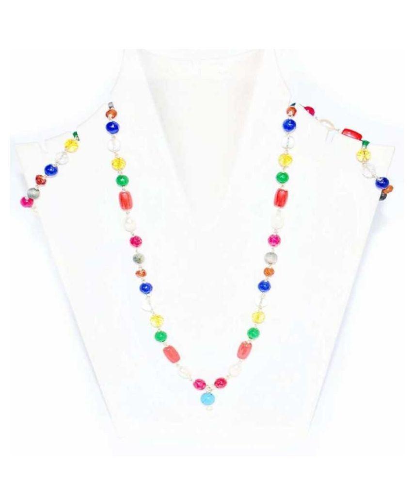 Navatan Mala Gems Stone  Beats Chain