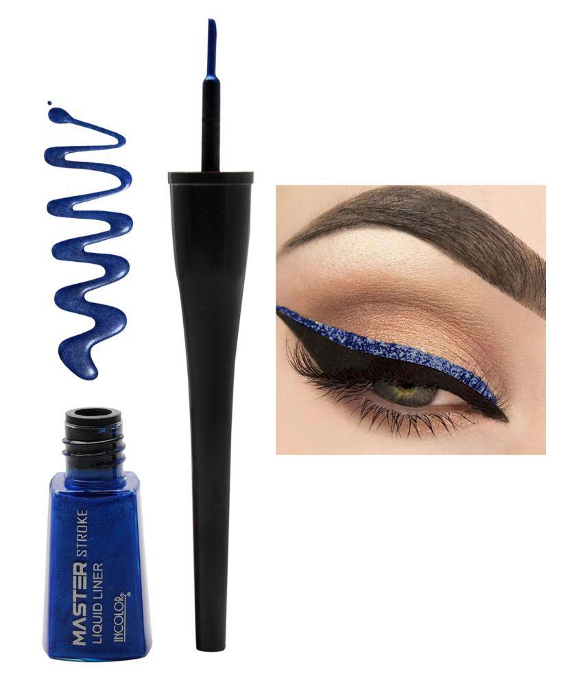 Incolor master Stroke Eyeliner Shade 05 Blue Shapphire | 6 ml