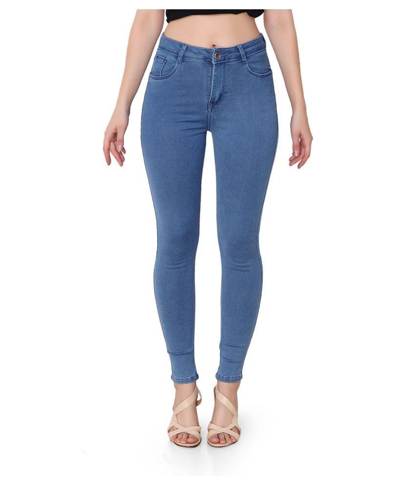 FACTS Denim Lycra Jeans - Blue
