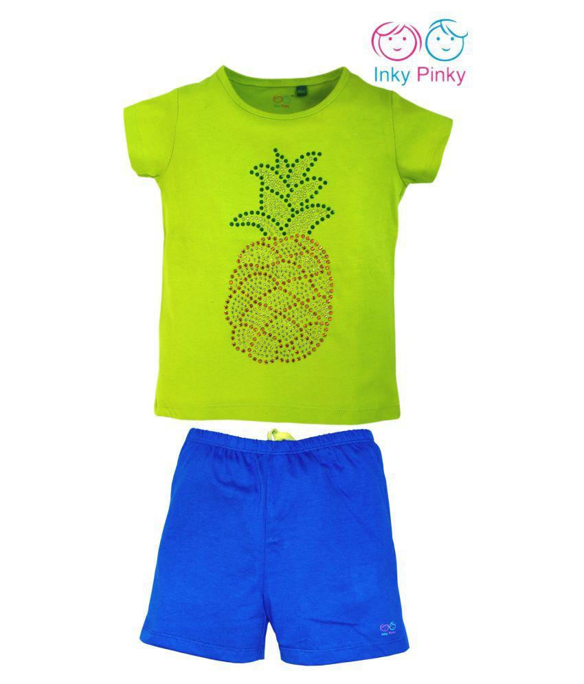 Girls Top & shorts set