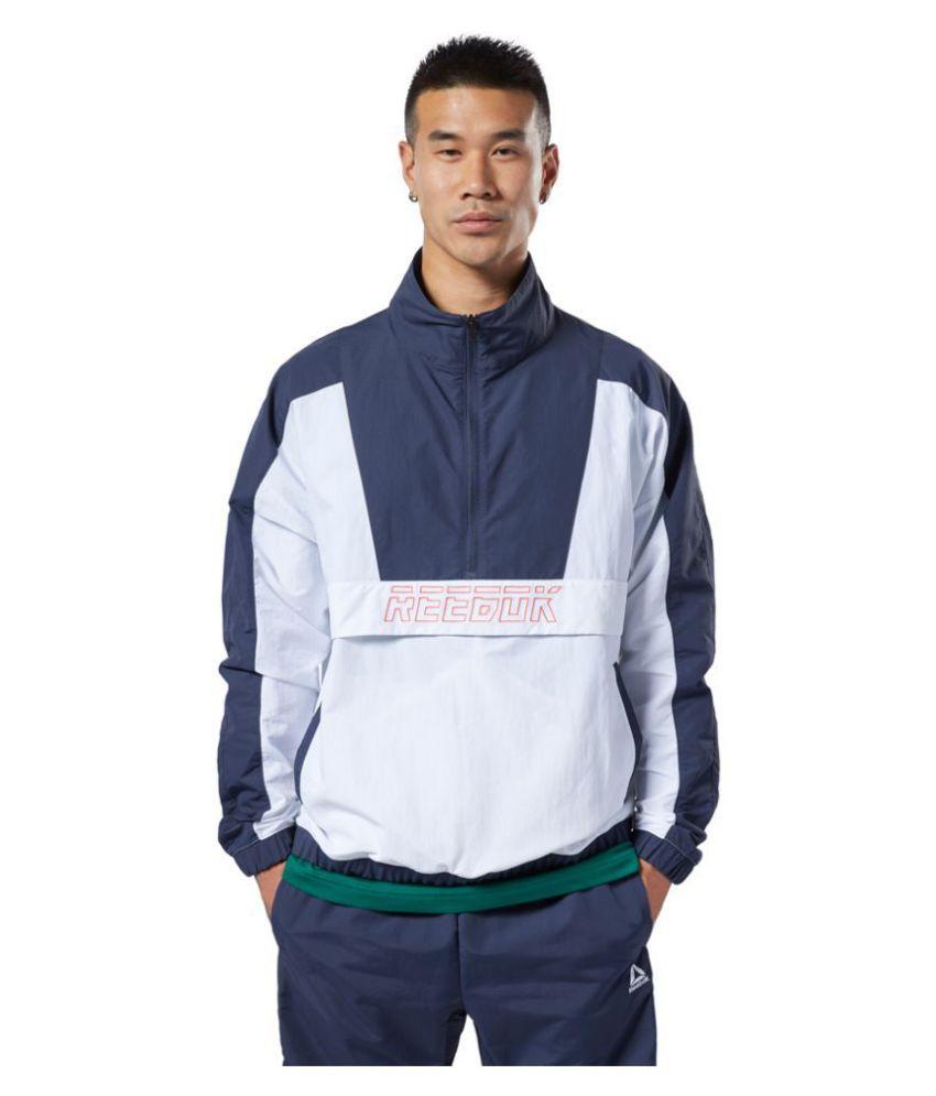 Reebok Blue Polyester Sweatshirt