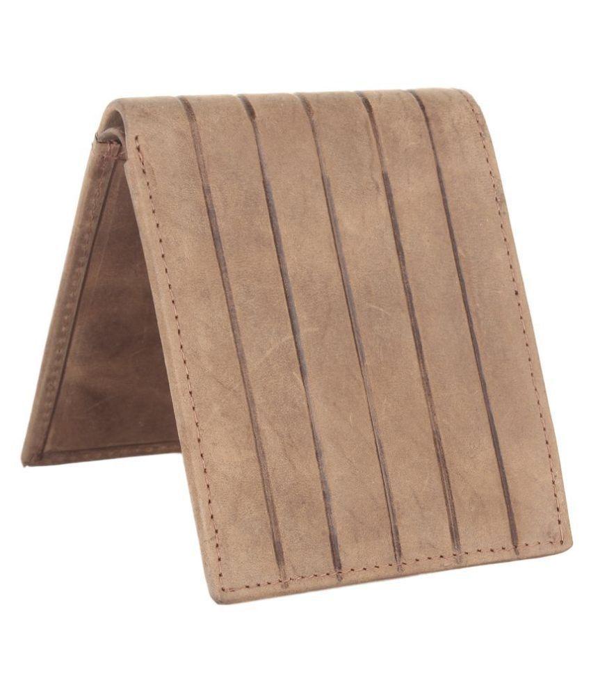 Aditya Leather Brown Fashion Regular Wallet
