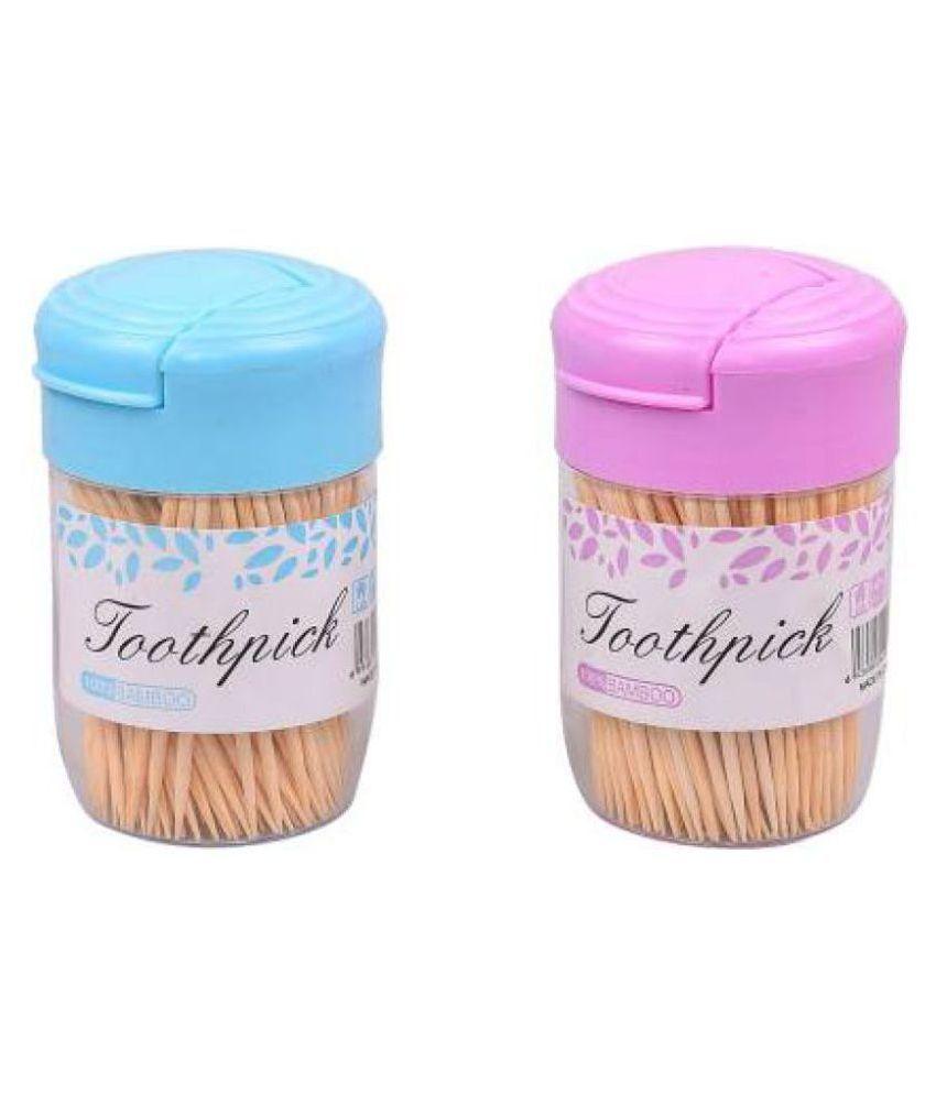 HAZZLEWOOD Toothpick 400 Pcs Pack of 2