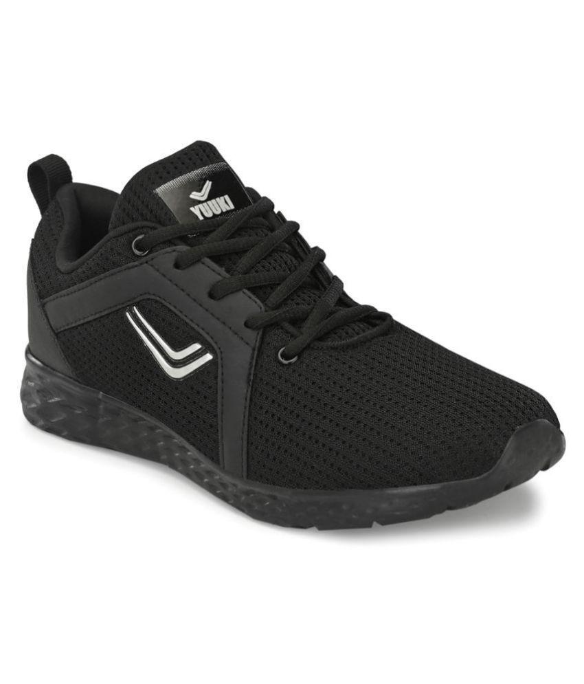 YUUKI Battle Black Running Shoes