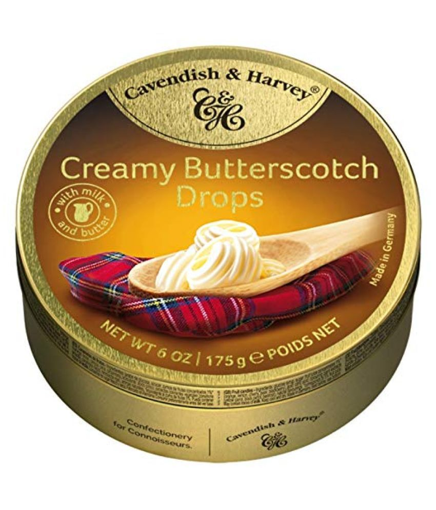 Cavendish & Harvey Butter Scotch Candy Drops 175 gm