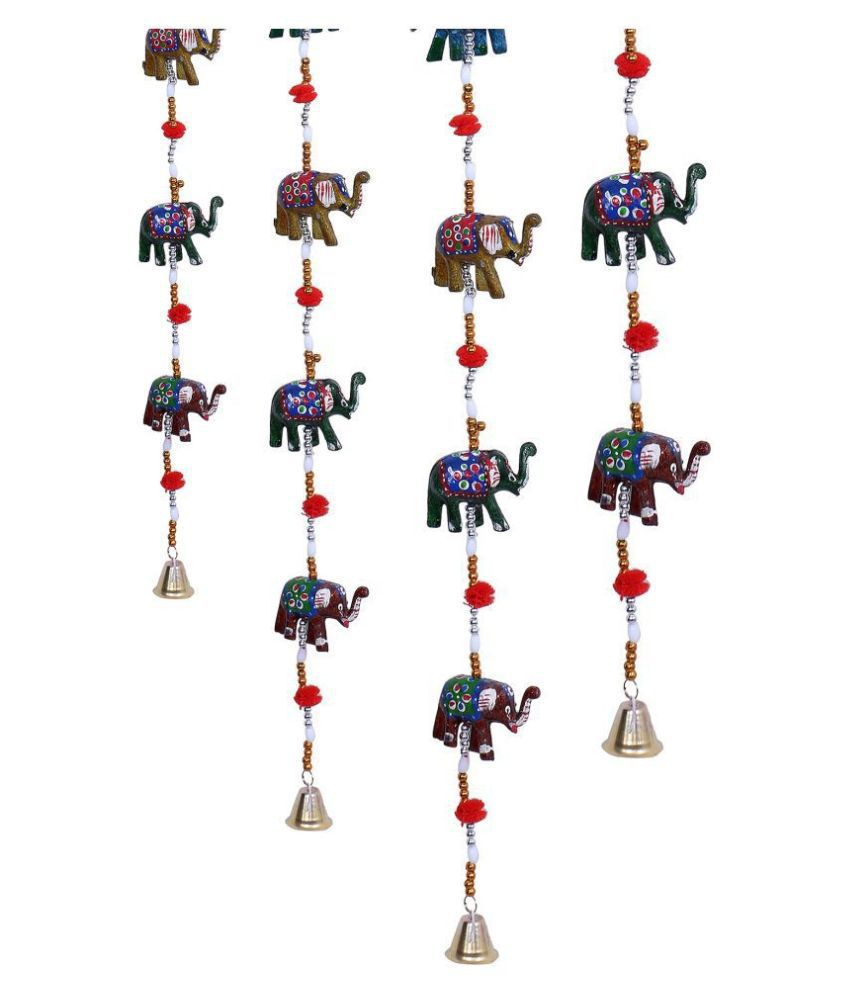 Fashion Art WIND CHIMES Paper Mache Rod Indoor Windchime Pack of 4