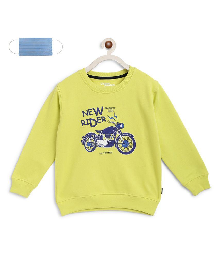 Li'l Tomatoes Boys Sweatshirt With FREE Gift