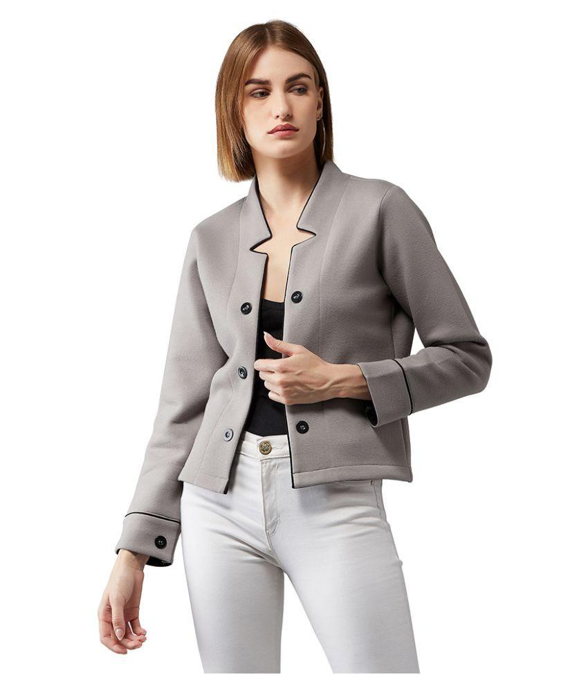 Dolce Crudo Cotton Grey Jackets
