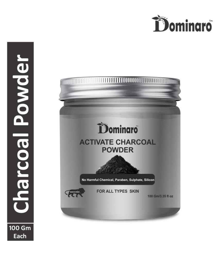Dominaro 100% Pure CHarcoal Powder Face Pack 100 gm