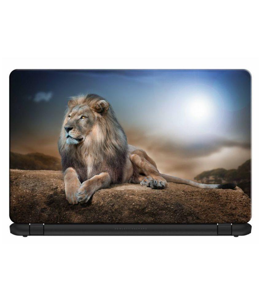 doodad King Of Jungle Removable Vinyl Skin Laptop Decal 15.6
