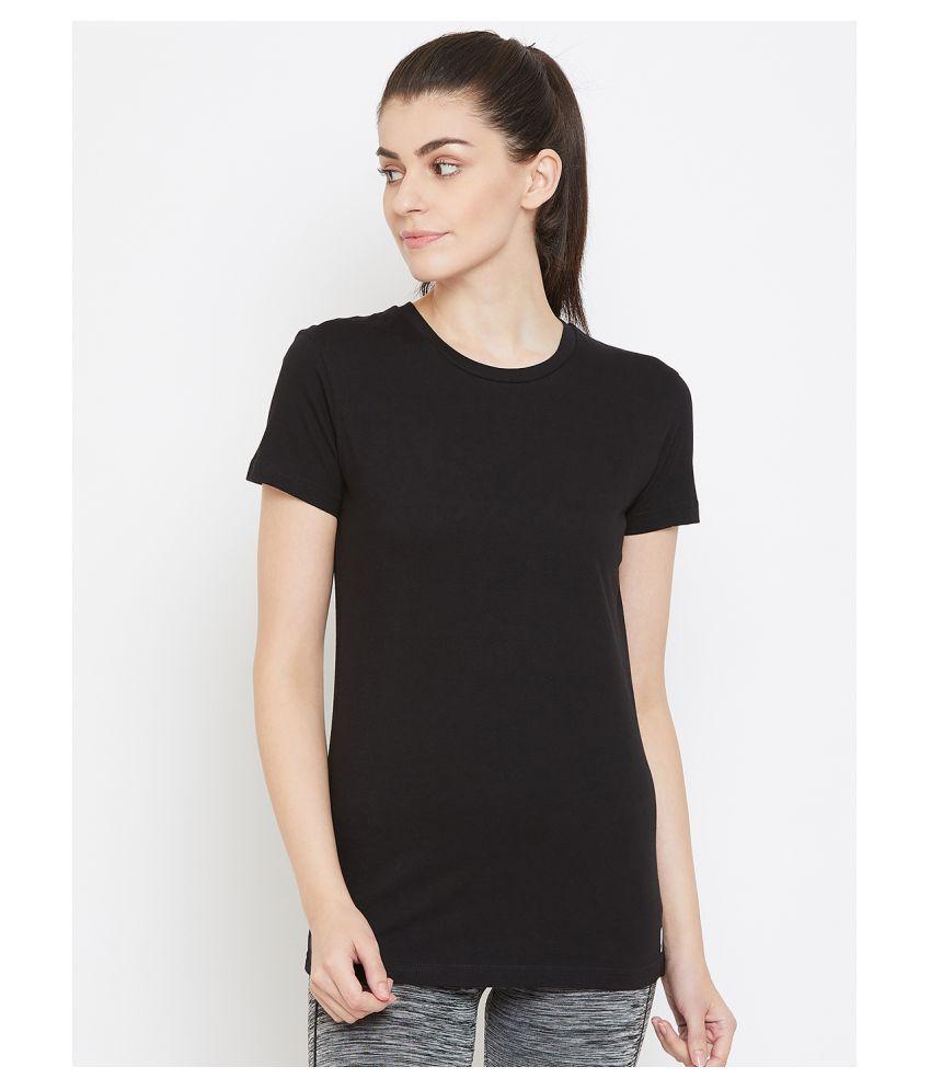 C9 Airwear Cotton Regular Tops - Black