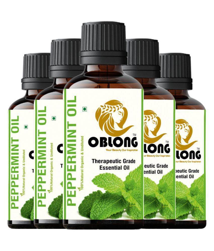 Oblong Peppermint Essential Oil 50 mL
