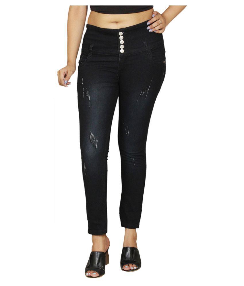 Avenew Fashions Denim Jeans - Black