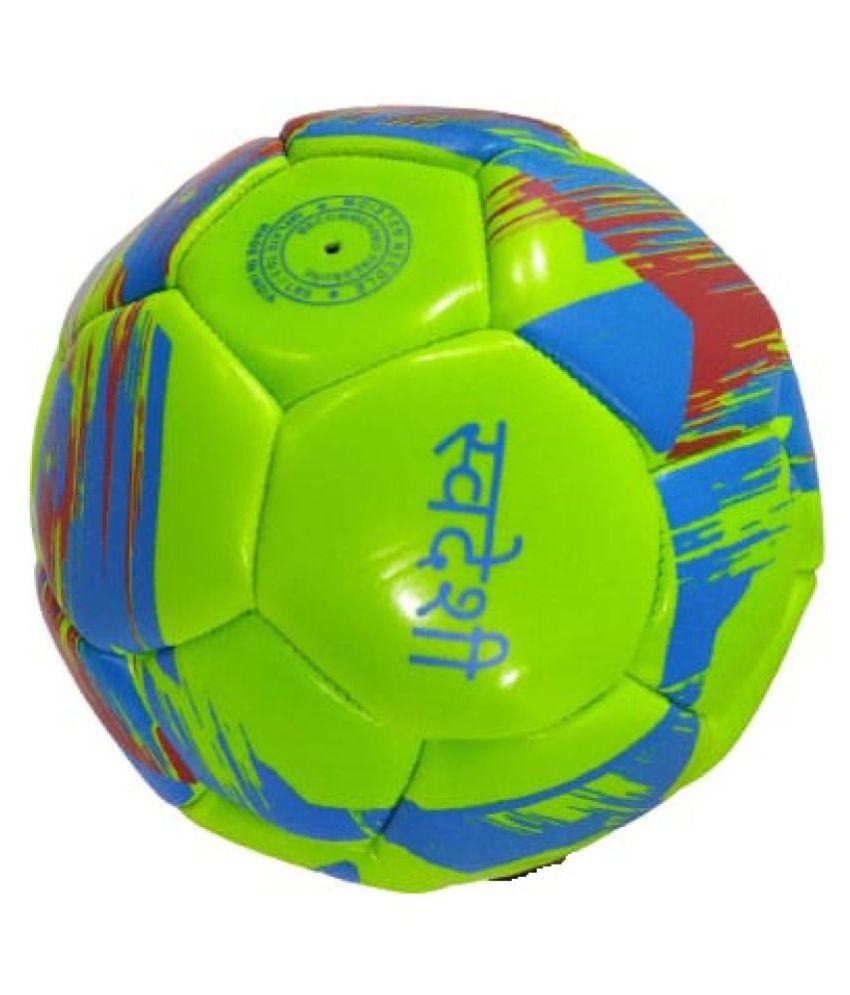 Port Hike Football Multi Color Football Size  5