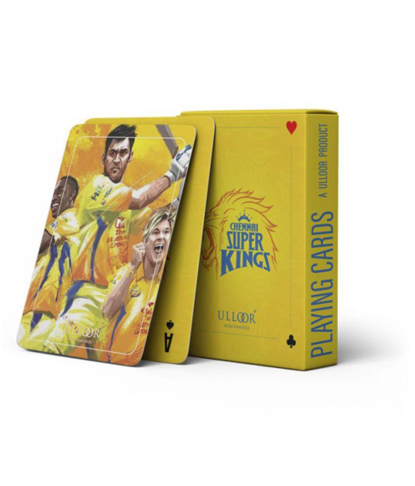 ULLOOR Merchandise Assorted Plastic Playing Cards
