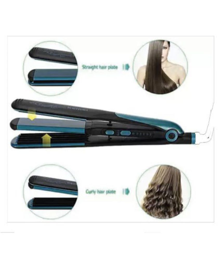 BP ADVANCE 2 IN1 HAIR CURLY HAIR STRAIGHTENER Multi Casual Fashion Comb
