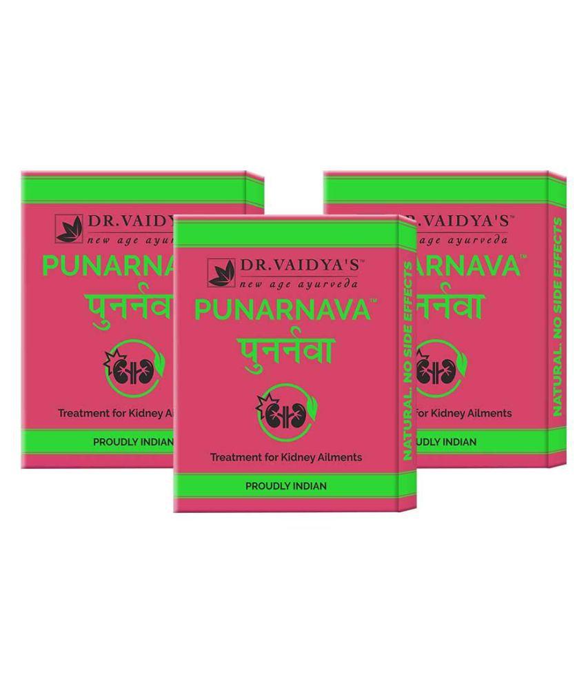 Dr Vaidyas Punarnava-forKidneyAilments24pills Tablet 72 no.s Pack of 3