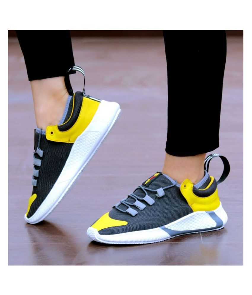 Imcolus Sneakers Gray Casual Shoes