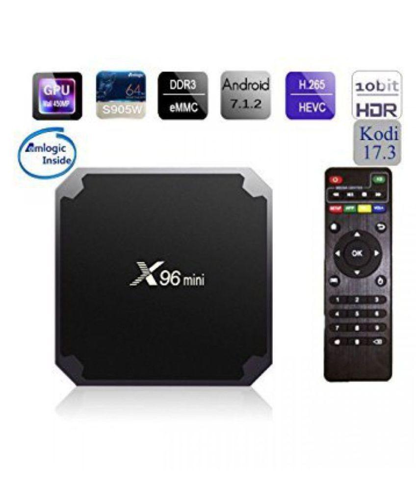 Amlogic X96 4K 7.1 TV BOX Streaming Media Player