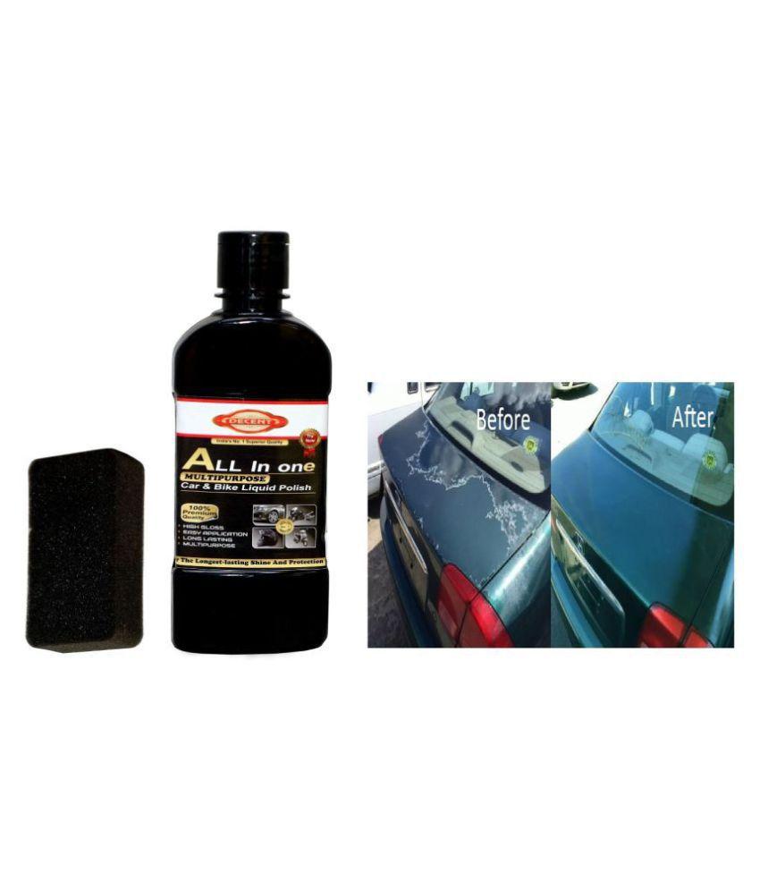 Decent best quality car & bike polish 200ml