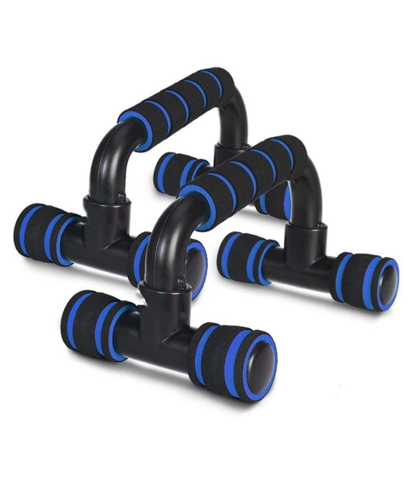 Boldfit Push Up Bar Stand for Gym  amp; Home Exercise, Dips/Push Up Stand for Men  amp; Women. Useful in Chest  amp; Arm Workout  Multi Color