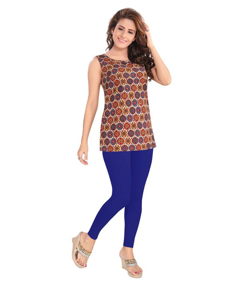 Salwar Studio Cotton Lycra Single Leggings