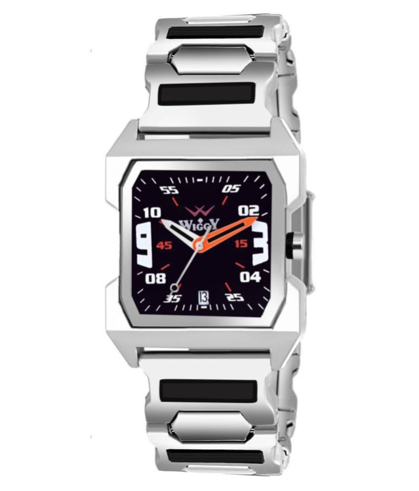 wiggy G-225 Date Display Stainless Steel Analog Men's Watch