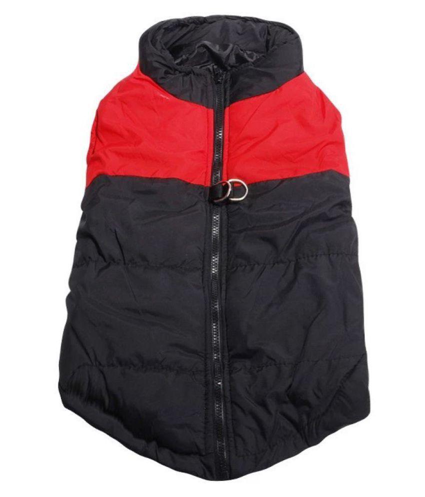 KUTKUT Waterproof and Warm Padded Zipper Jackets For  Dogs