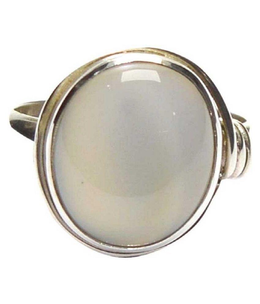Natural Lab Certified 2.25 carat 100% Original MOONSTONE  Ring for unisex by Kundli Gems\n