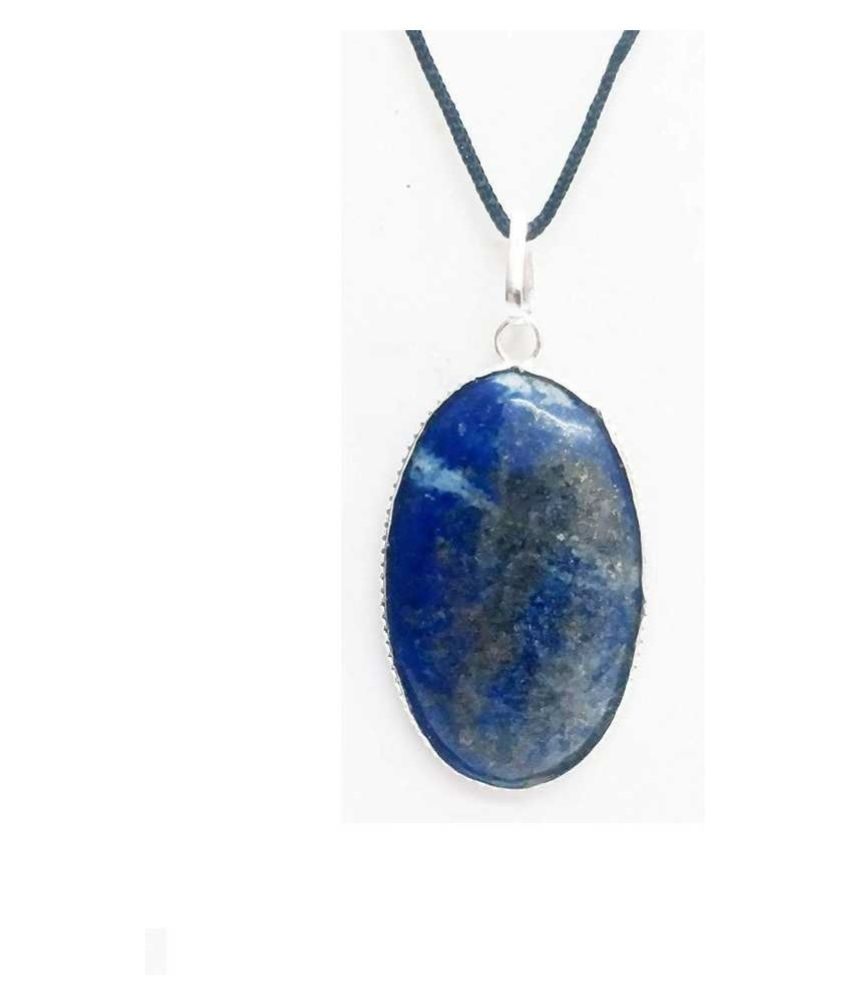 6.5 Carat Lab Certified silver lapis lazuli   Ring for unisex by  Ratan Bazaar
