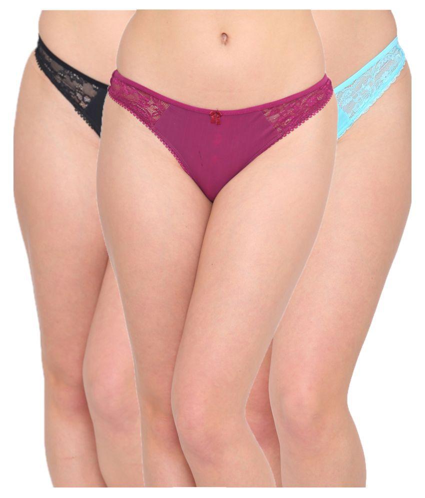 N-Gal Polyester Bikini Panties
