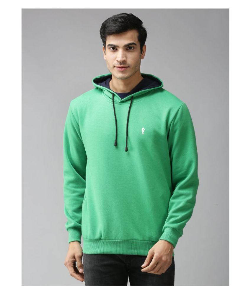 EPPE Light Green Polyester Fleece Sweatshirt Single Pack