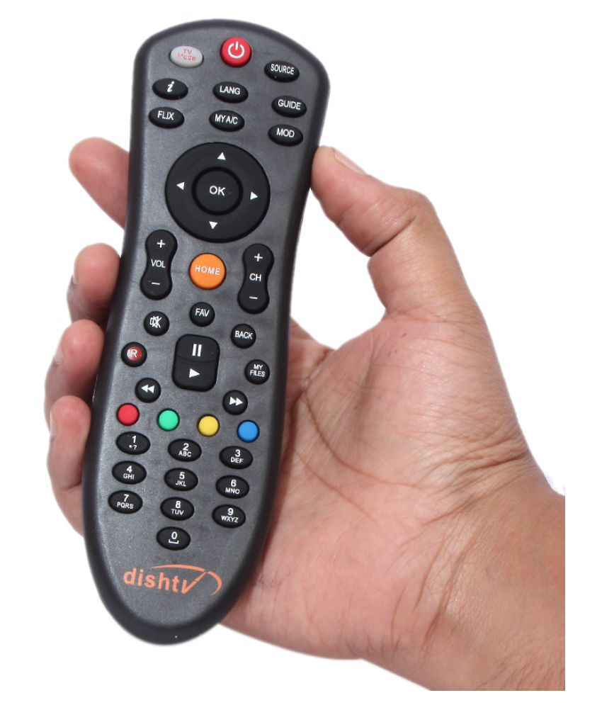 OSSDEN Dish tv Remote Ovel DTH Remote Compatible with DIshtv Remote ovel set top Box
