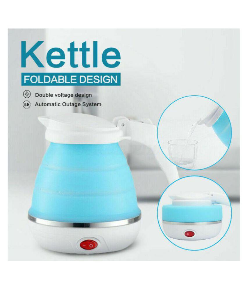 Saleh Electric Kettle 0.6 Liter 600 Watt Plastic Electric Kettle